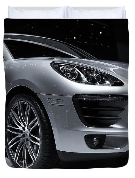 2014 Porsche Macan Duvet Cover