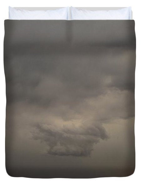 Let The Storm Season Begin Duvet Cover