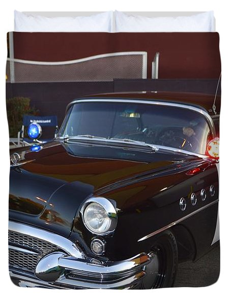 2150 To Headquarters Duvet Cover by Tommy Anderson