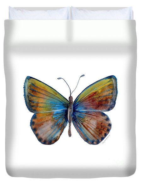 22 Clue Butterfly Duvet Cover