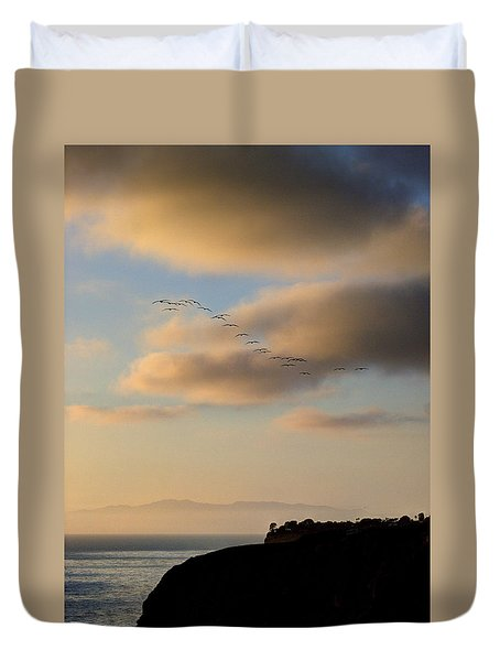 Duvet Cover featuring the photograph 22 by Joe Schofield