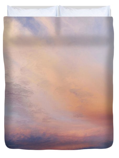 Clouds Duvet Cover by Les Cunliffe