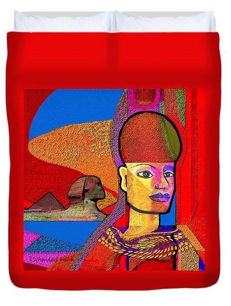 244 - Remembering  Old Egypt   Duvet Cover