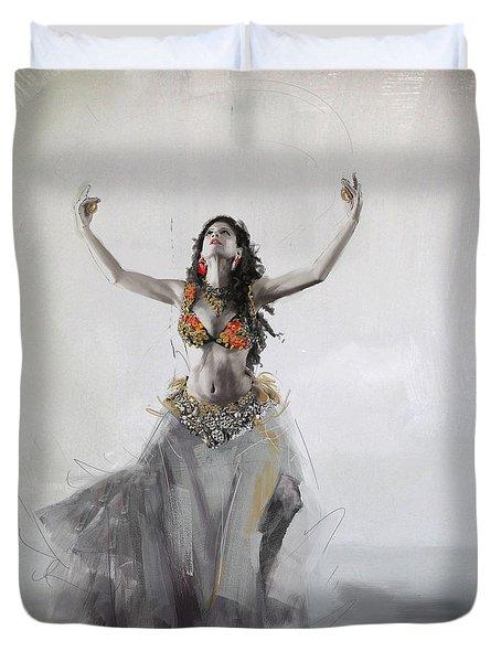 Belly Dancer 5 Duvet Cover