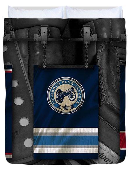 Columbus Blue Jackets Duvet Cover