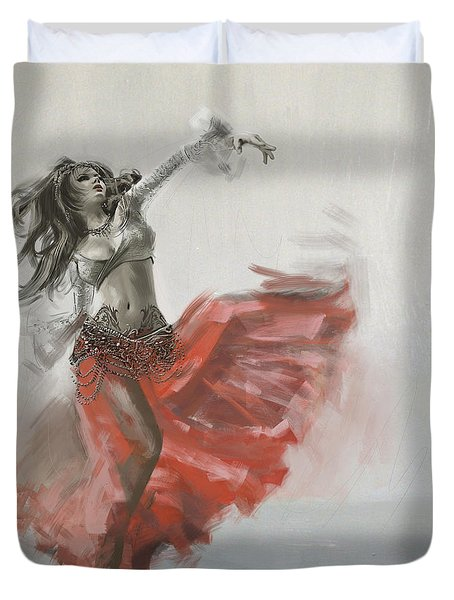 Belly Dancer 4 Duvet Cover