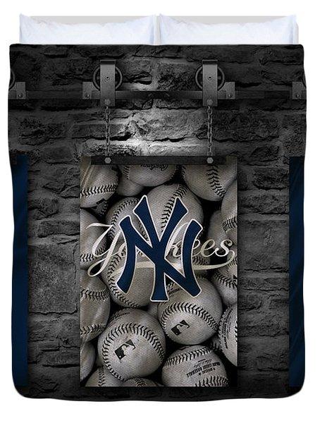 New York Yankees Duvet Cover