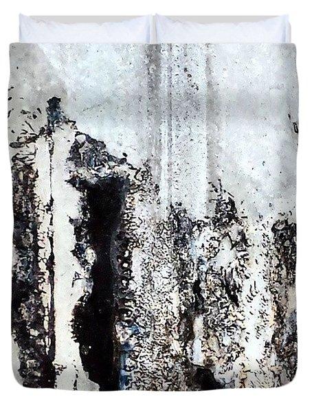 Lamppost 8 Duvet Cover