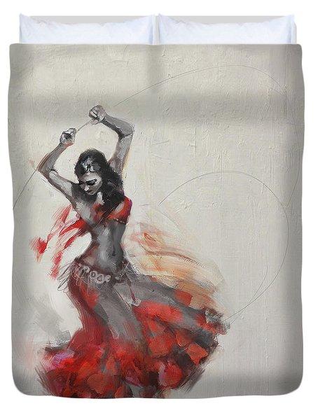 Belly Dancer 3 Duvet Cover