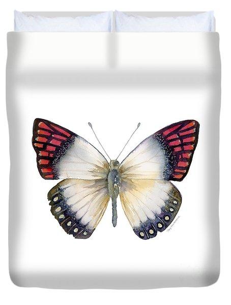 27 Magenta Tip Butterfly Duvet Cover