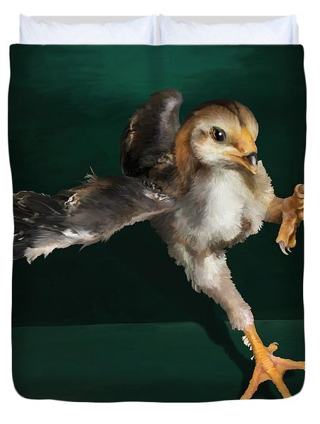 29. Yamato Chick Duvet Cover