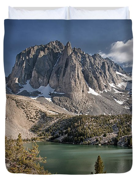 2nd Lake And Temple Crag Duvet Cover