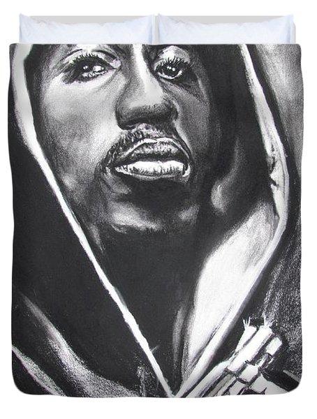 2pac - Thug Life Duvet Cover