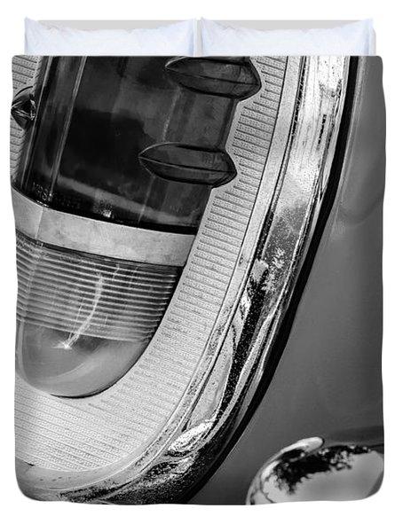 1955 Mercury Monterey Taillight Duvet Cover