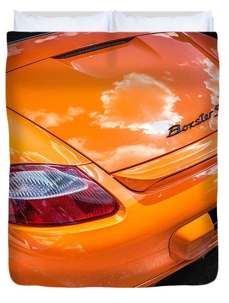 2008 Porsche Limited Edition Orange Boxster  Duvet Cover