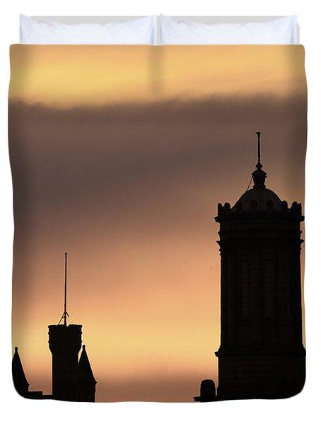 Aberdeen Silhouettes  Duvet Cover
