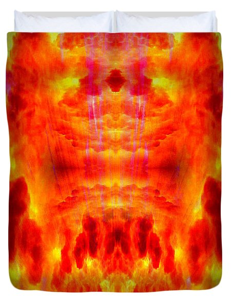 Abstract 70 Duvet Cover by J D Owen