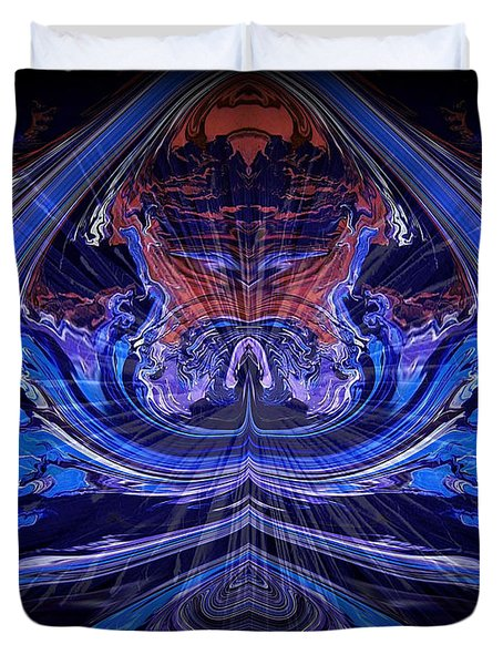 Abstract 71 Duvet Cover by J D Owen