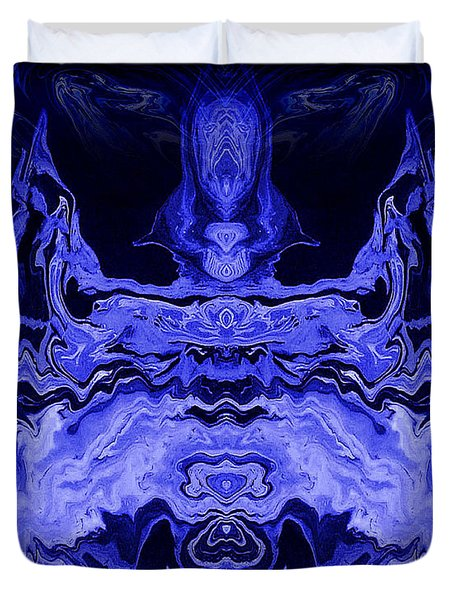 Abstract 72 Duvet Cover by J D Owen