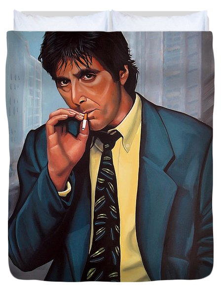 Al Pacino 2 Duvet Cover