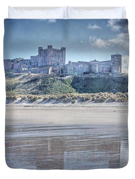 Bamburgh Castle 2 Duvet Cover