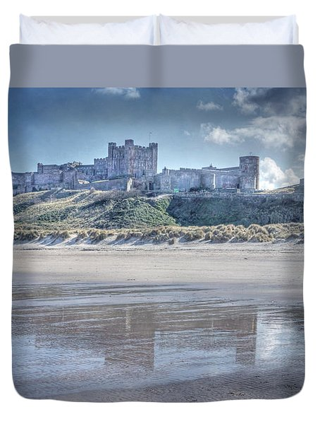 Bamburgh Castle 2 Duvet Cover