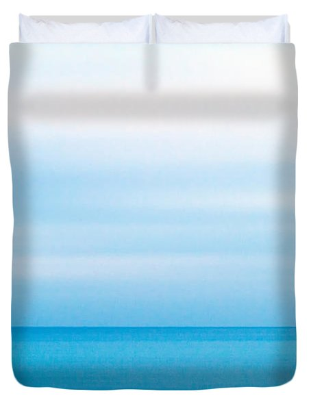 Blue Mediterranean Duvet Cover by Stelios Kleanthous