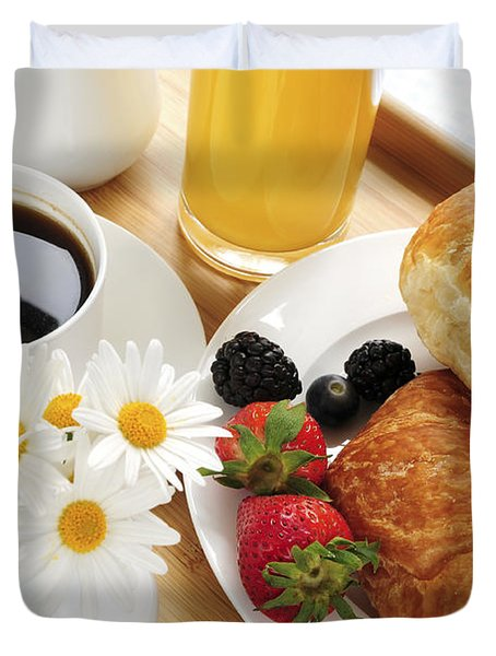 Breakfast  Duvet Cover by Elena Elisseeva