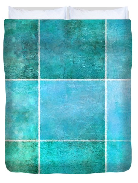 3 By 3 Ocean Duvet Cover