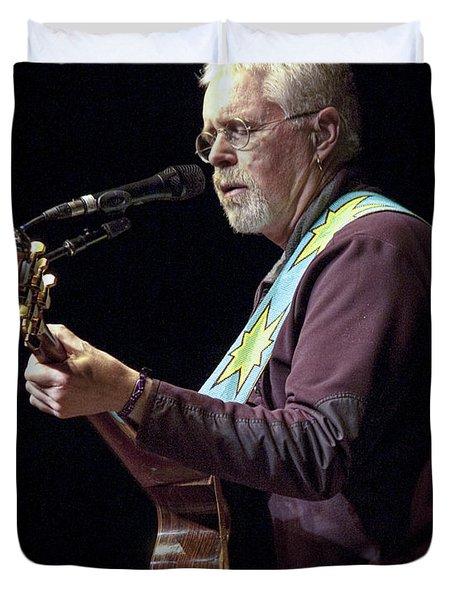 Canadian Folk Rocker Bruce Cockburn Duvet Cover