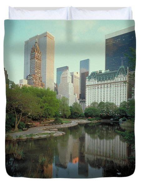 Central Park Duvet Cover by Rafael Macia