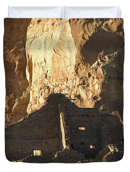 Chaco Canyon Duvet Cover by Steven Ralser