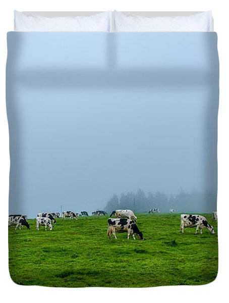 Cows In The Field Duvet Cover