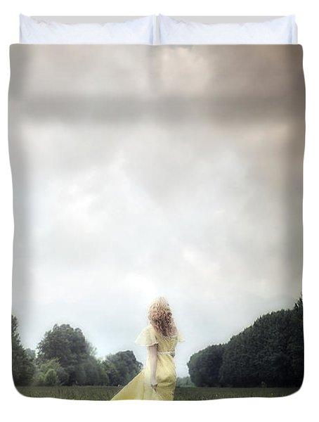 Dancing Duvet Cover by Joana Kruse