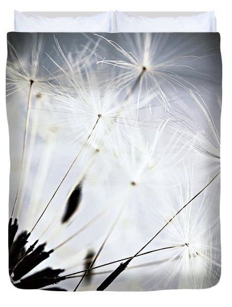 Dandelion Duvet Cover by Elena Elisseeva