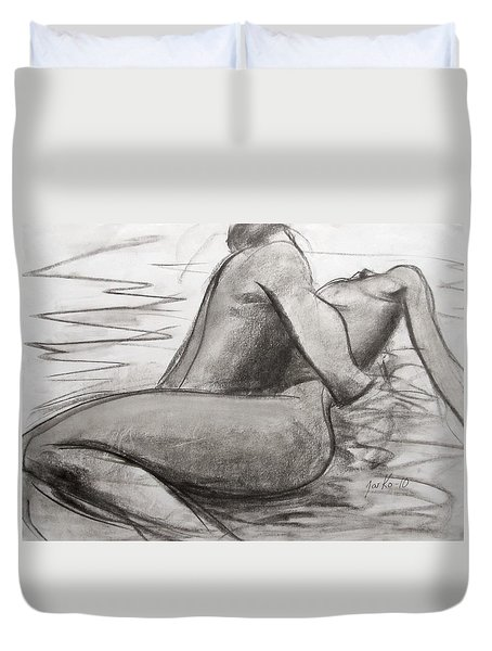 Deep Love Duvet Cover by Jarmo Korhonen aka Jarko