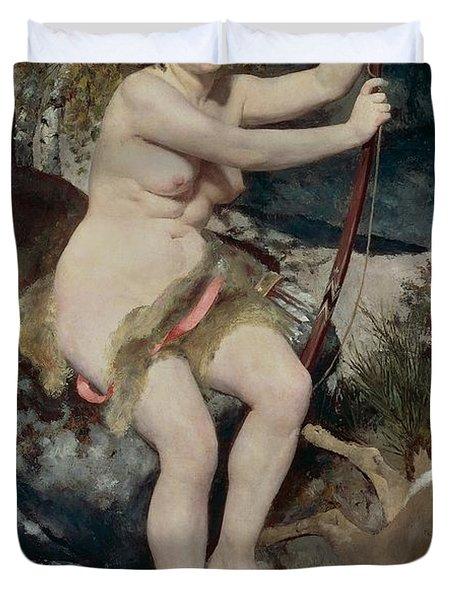 Diana Duvet Cover by Pierre-Auguste Renoir