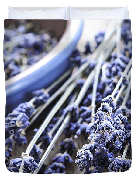 Dried Lavender Duvet Cover