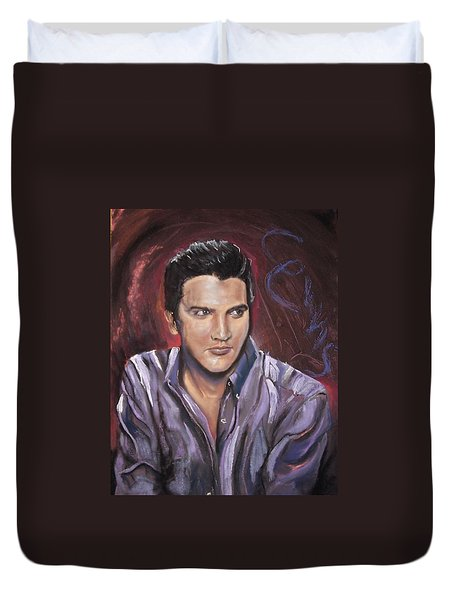 Elvis Duvet Cover by Peter Suhocke