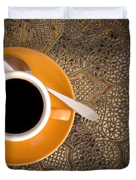 Espresso Duvet Cover
