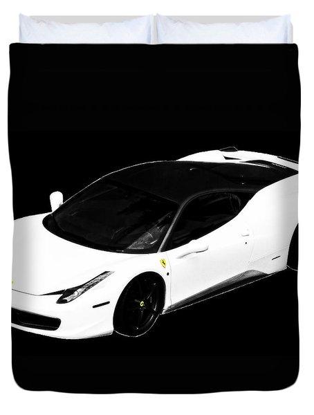 Ferrari Duvet Cover by J Anthony
