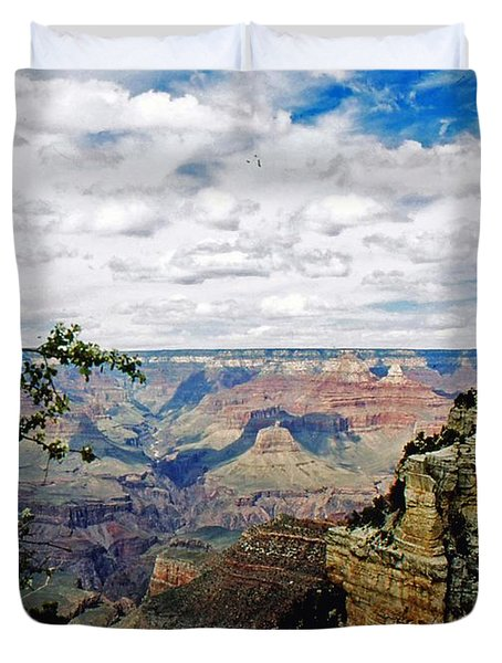 Duvet Cover featuring the photograph Grand Canyon by Gary Wonning