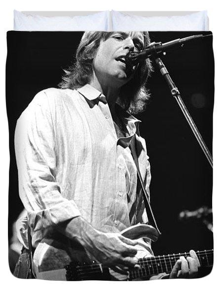Grateful Dead - Bob Weir Duvet Cover