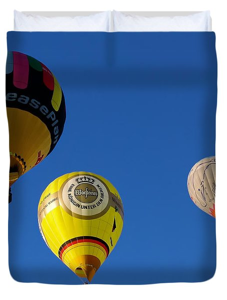 3 Hot Air Balloon Duvet Cover
