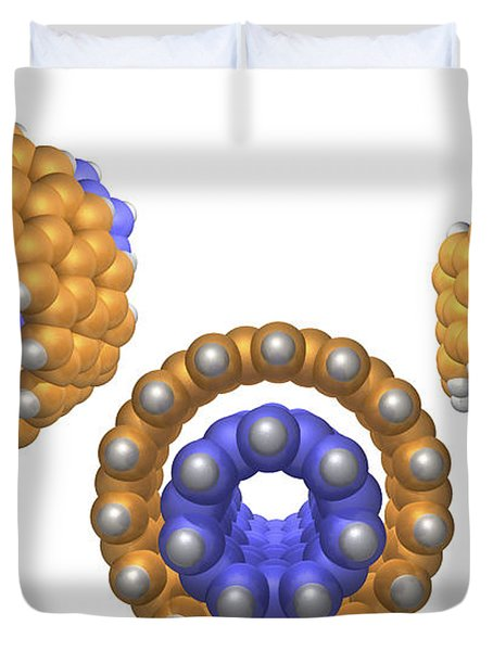 Hydrocarbon-based Nanotechnology Duvet Cover