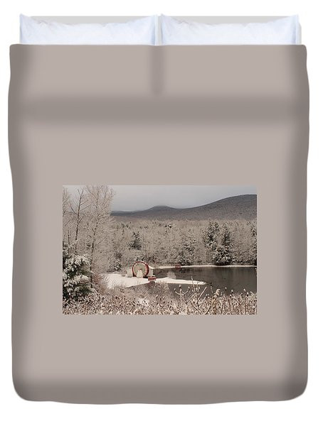 Indian Head Nh Duvet Cover