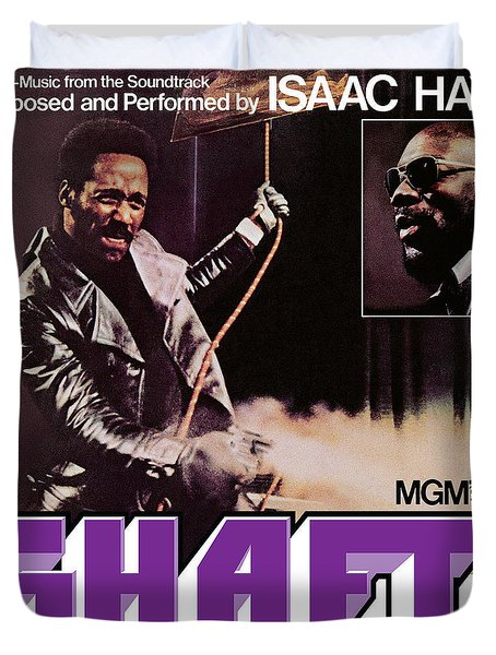 Isaac Hayes -  Shaft Duvet Cover