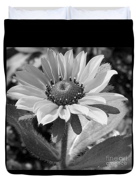 Duvet Cover featuring the photograph Just A Flower by Janice Westerberg