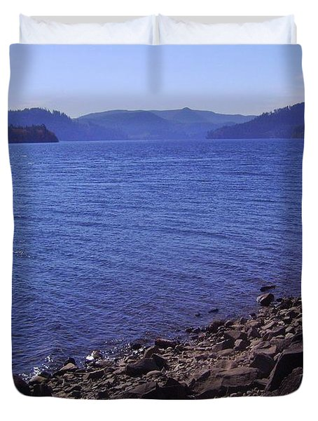 Lakes 2 Duvet Cover