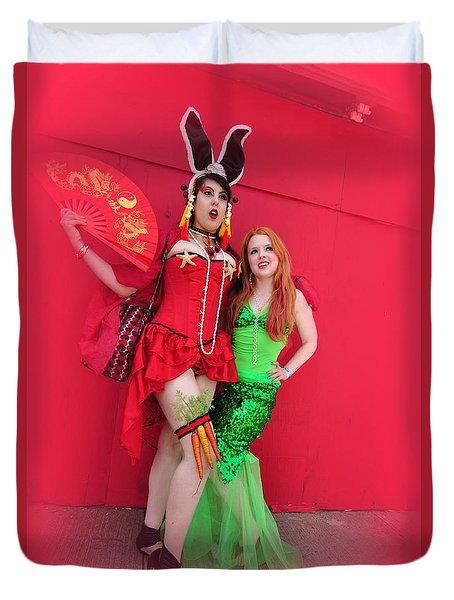 Mermaid Parade 2011 Duvet Cover